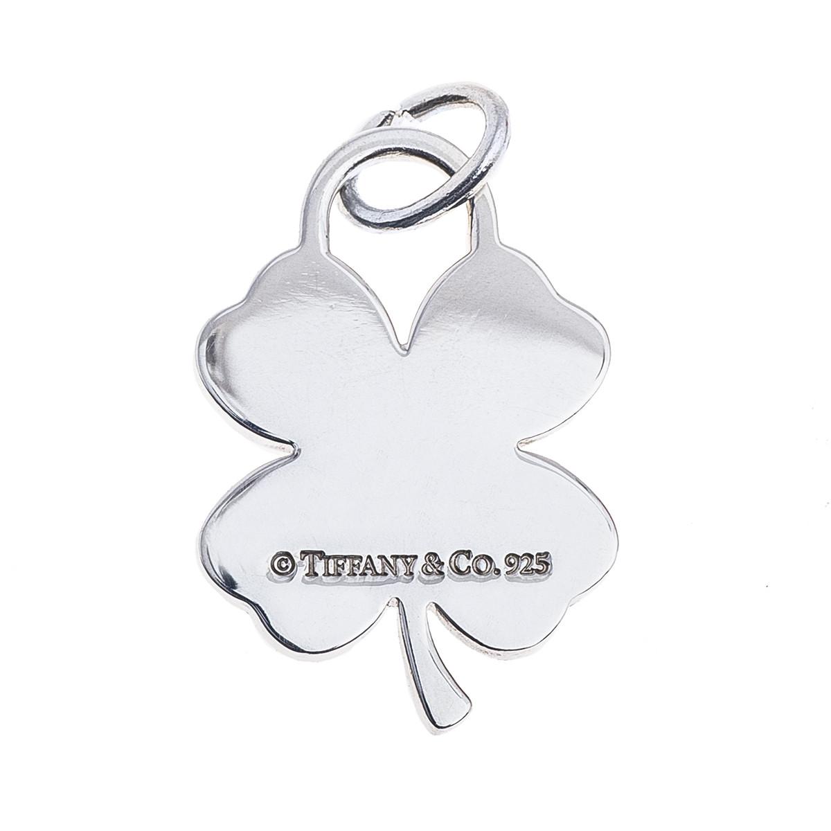 ca89354bb15c5 Vintage Tiffany & Co. Four Leaf Clover Charm