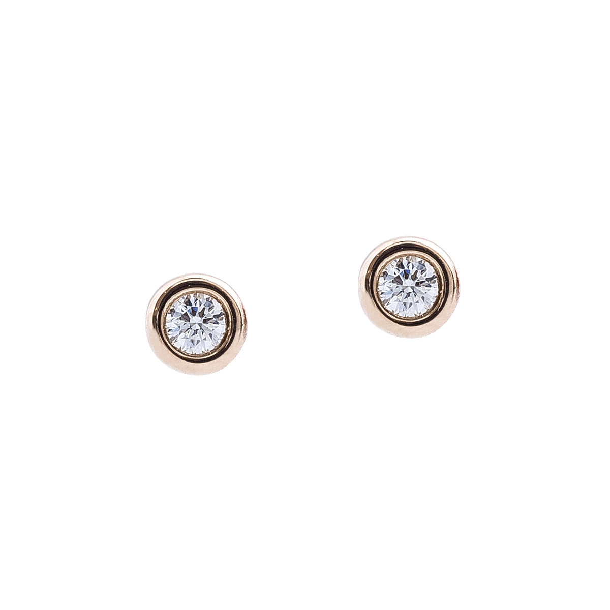 e06918d61 Vintage Tiffany & Co. Elsa Peretti Diamonds By The Yard Stud Earrings  Gallery Image
