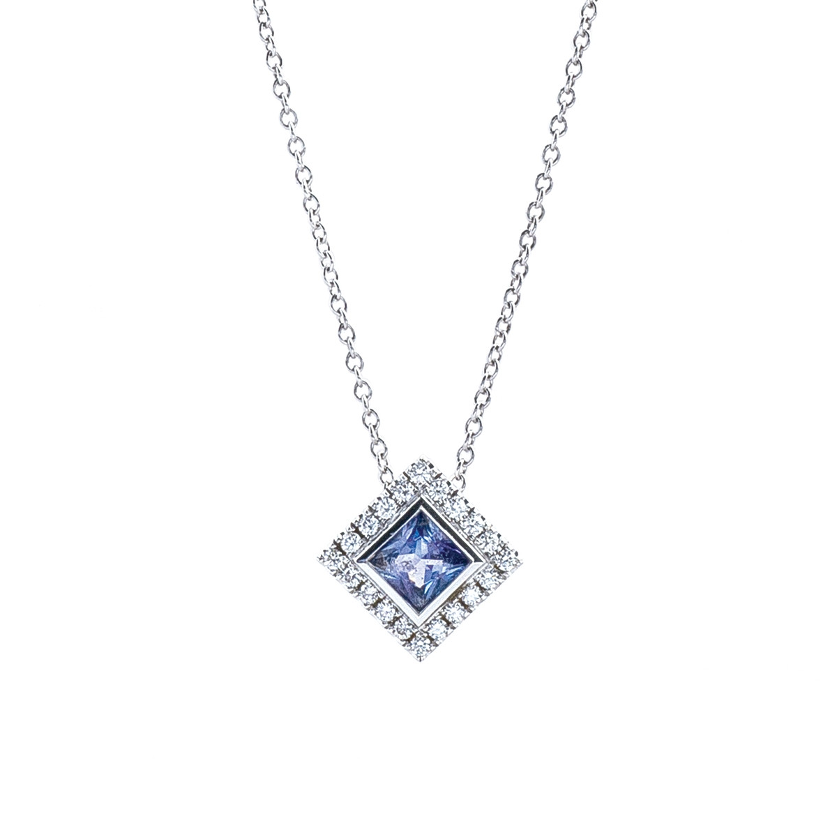 floating diamond necklace galaxy co pin and diamonds tanzanite a tiffany of diamondnecklace around rounding swirls