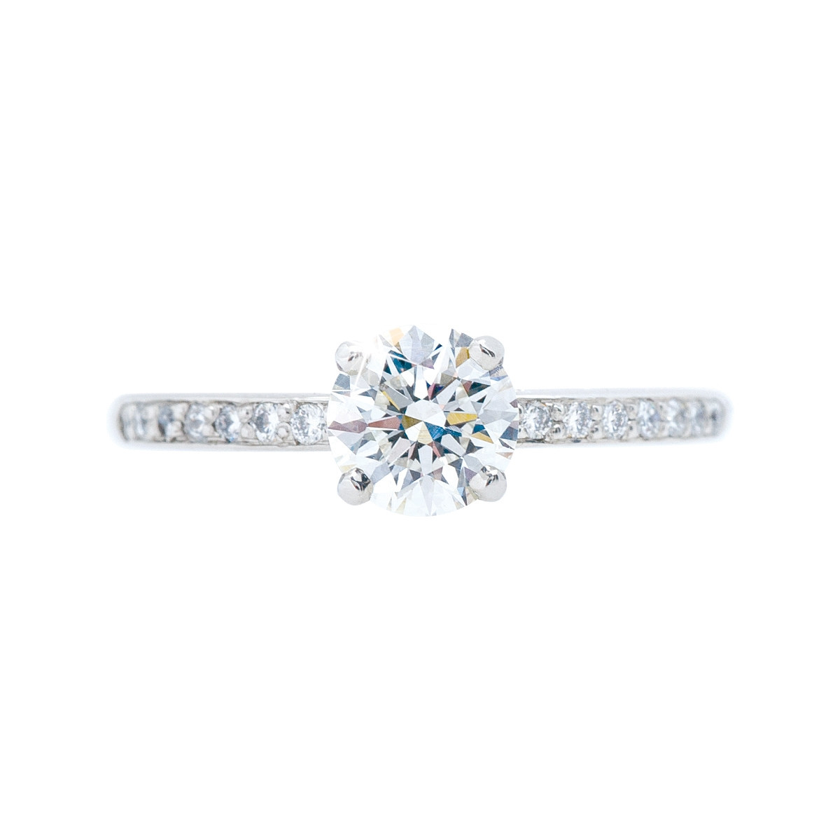 the properties of being ____ make a diamond a gemstone Vintage 0.84 CTW Diamond Engagement Ring - Shop Jewelry - Shop ...
