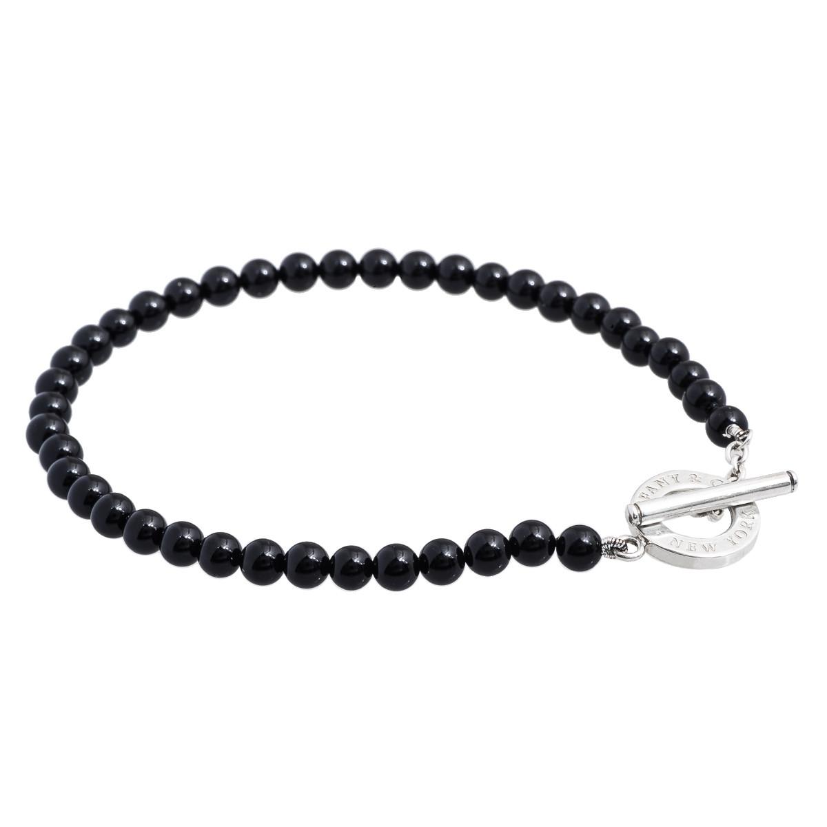 Black Onyx Bead Bracelet Gallery Image