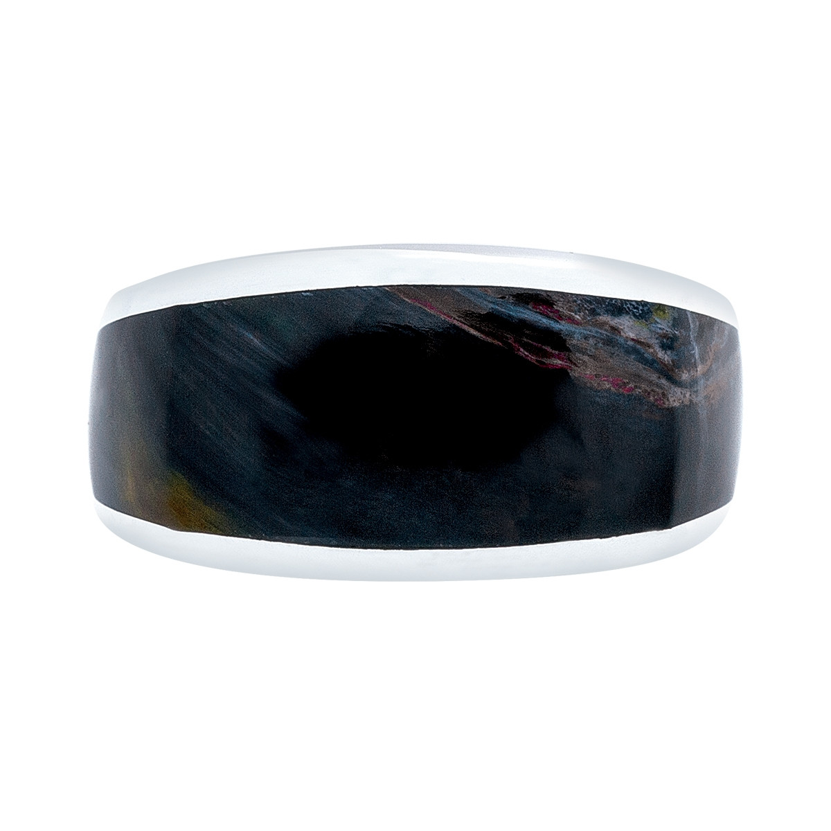 silver rings sterling itm size ring pietersite natural