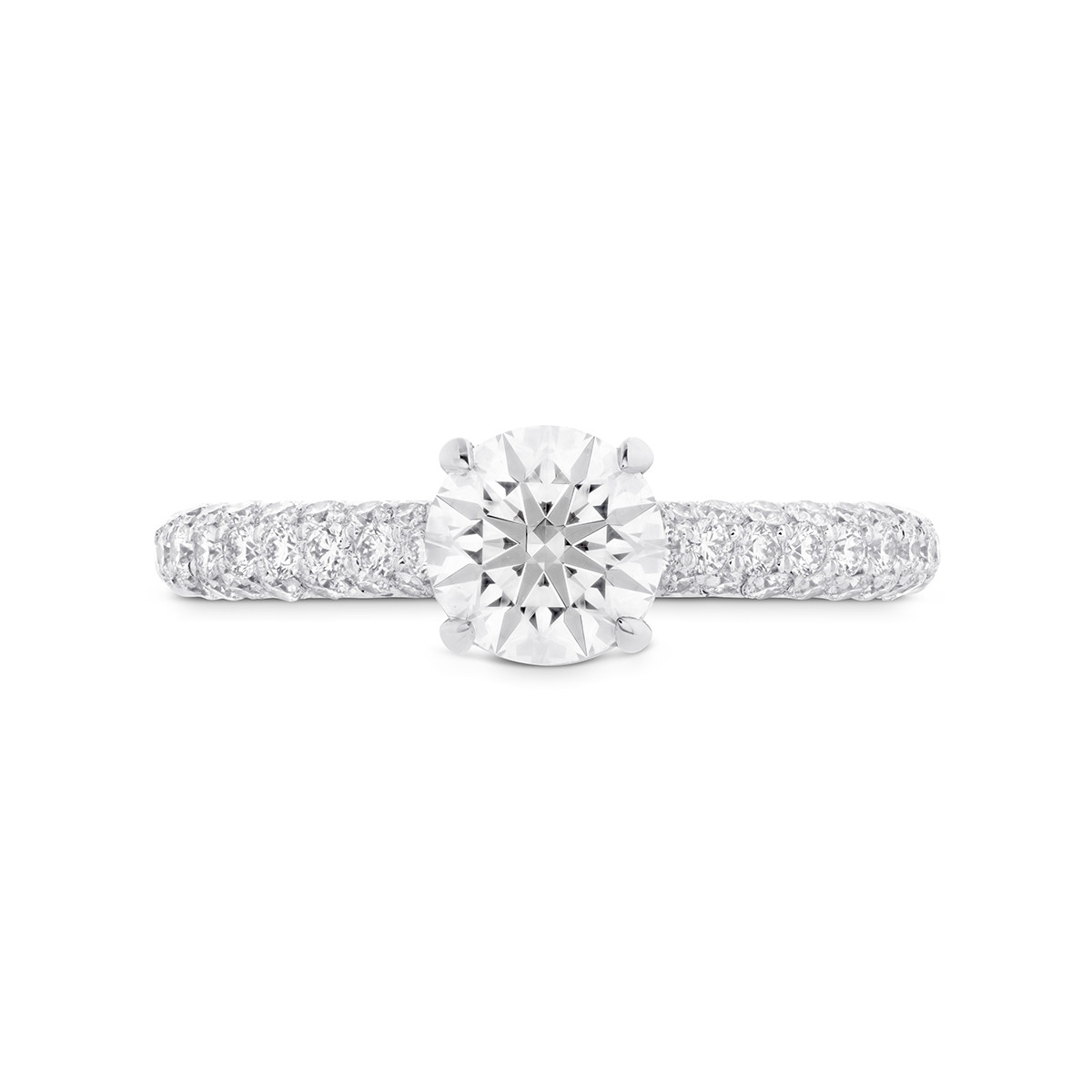 New Hearts On Fire® 0.54 CTW Diamond Euphoria Engagement Ring