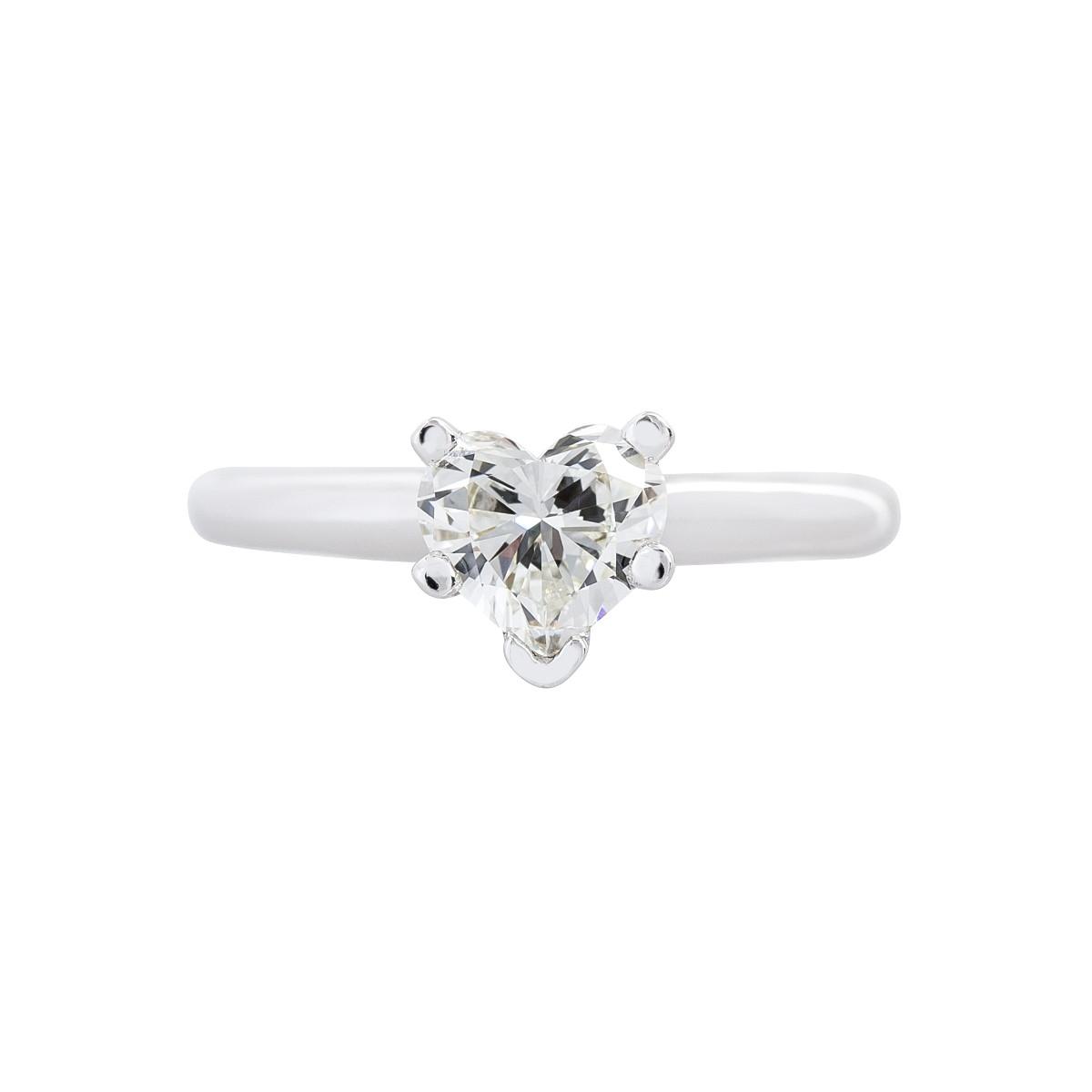 Vintage 0.63 CT Diamond Engagement Ring