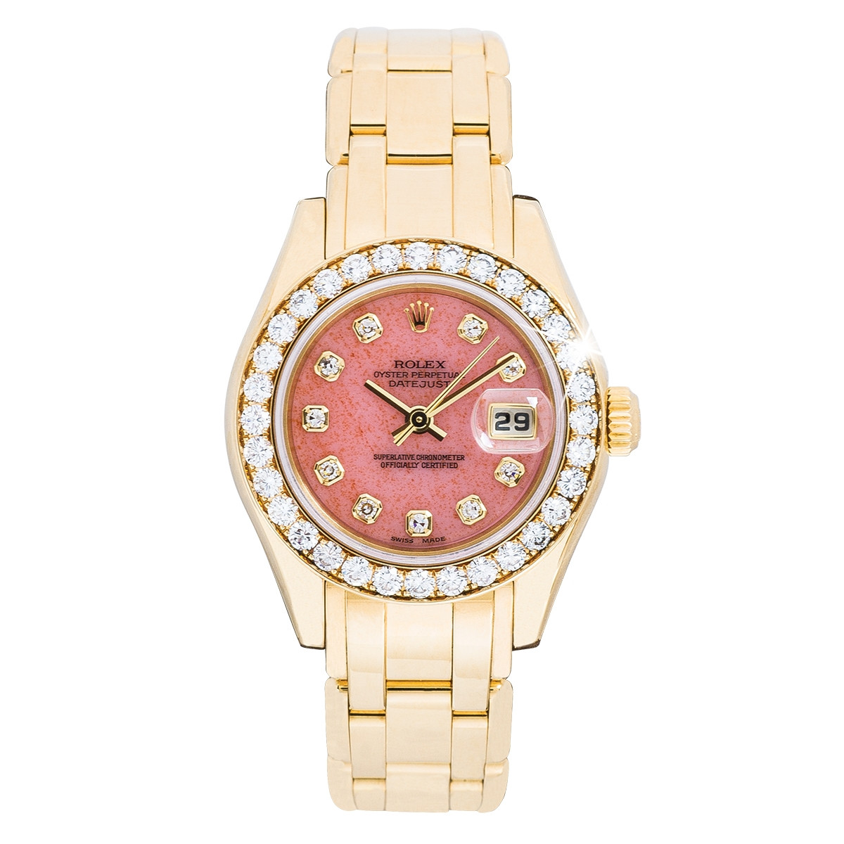 Pre-Owned Woman's Rolex Datejust Pearlmaster