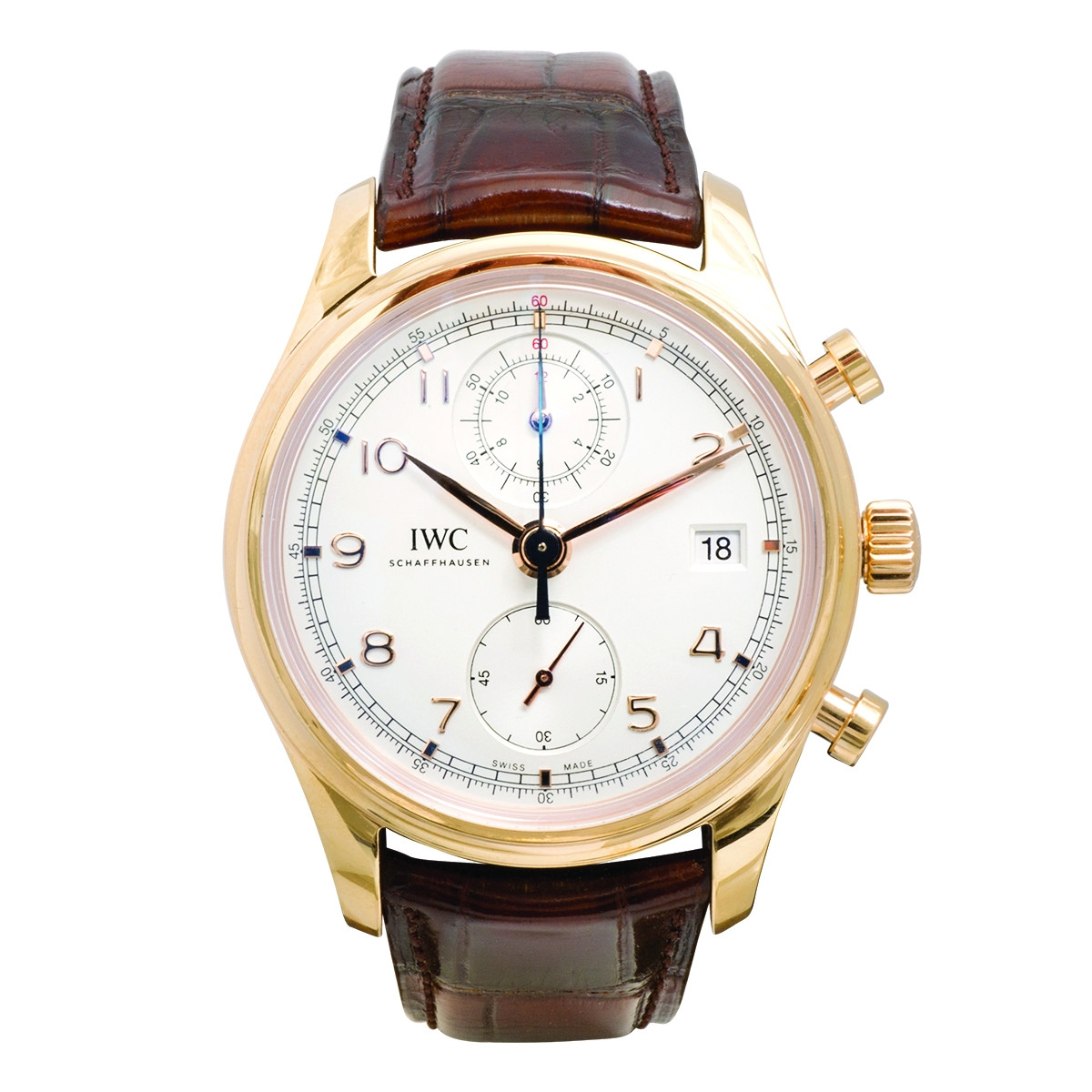 Pre-Owned Man's IWC Portuguese Chronograph Classic