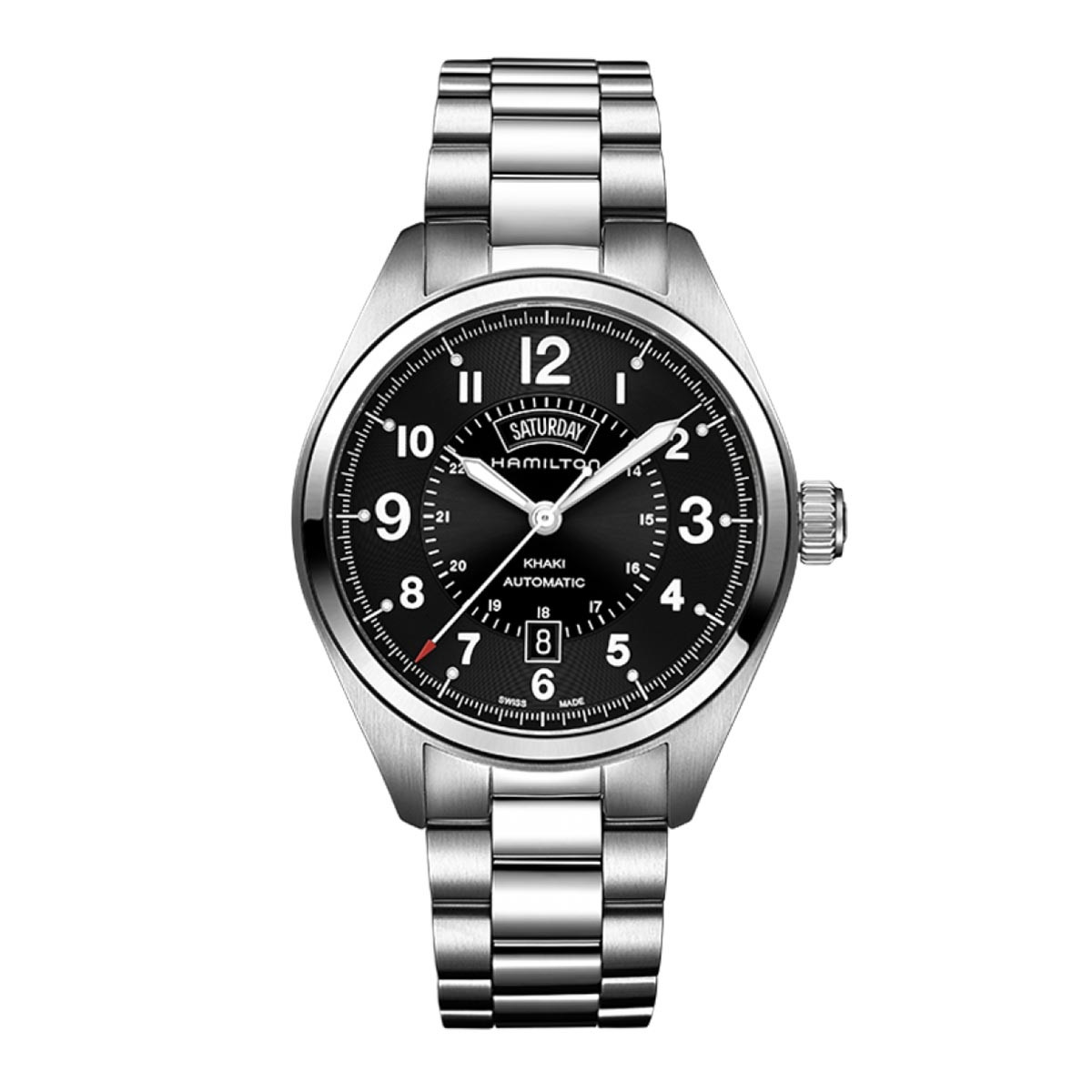 New Man's Hamilton Khaki Field Day Date