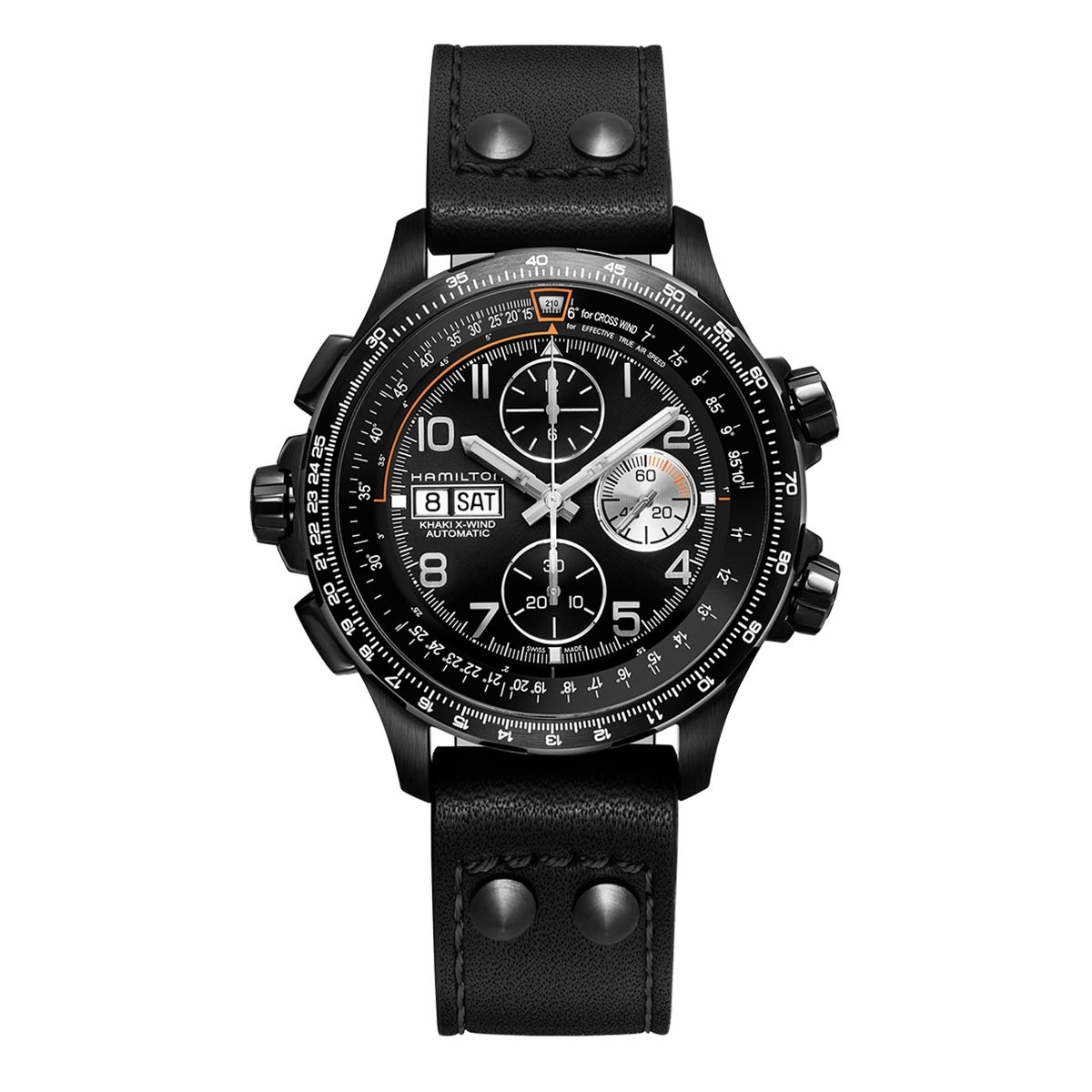 New Man's Hamilton Khaki Aviation X-Wind Chrono