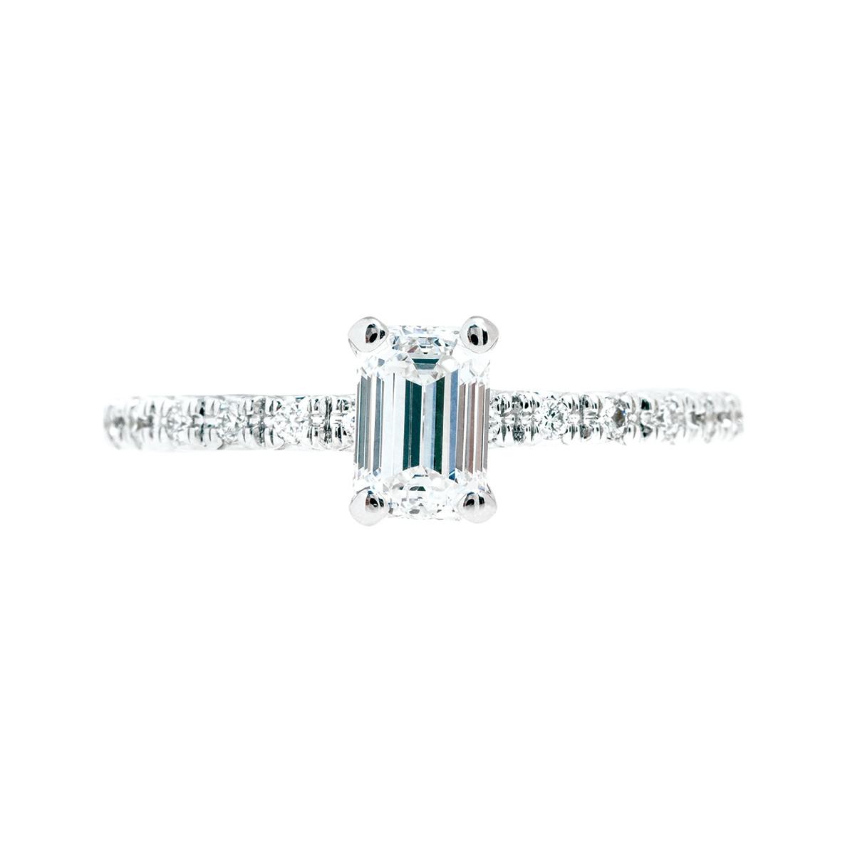 Vintage 0.89 CTW Diamond Engagement Ring