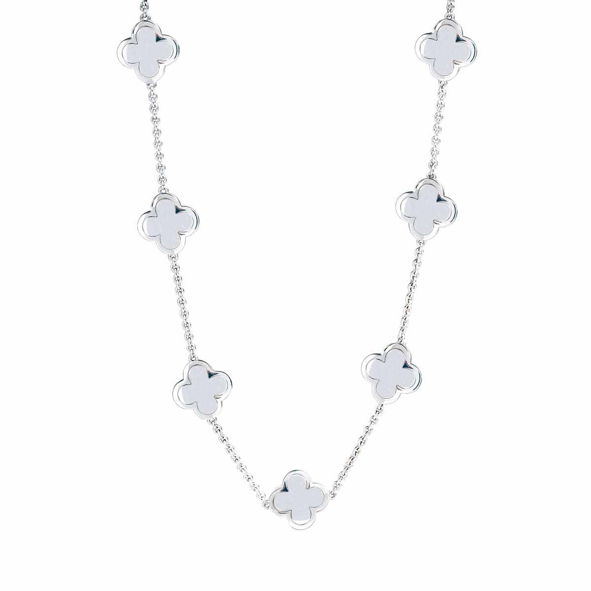 Vintage Van Cleef & Arpels Alhambra Choker Necklace