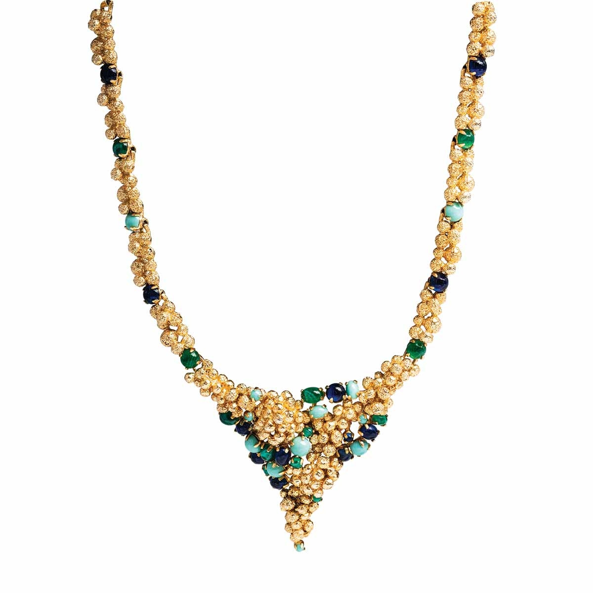 Vintage Dior Faux Multicolored Necklace