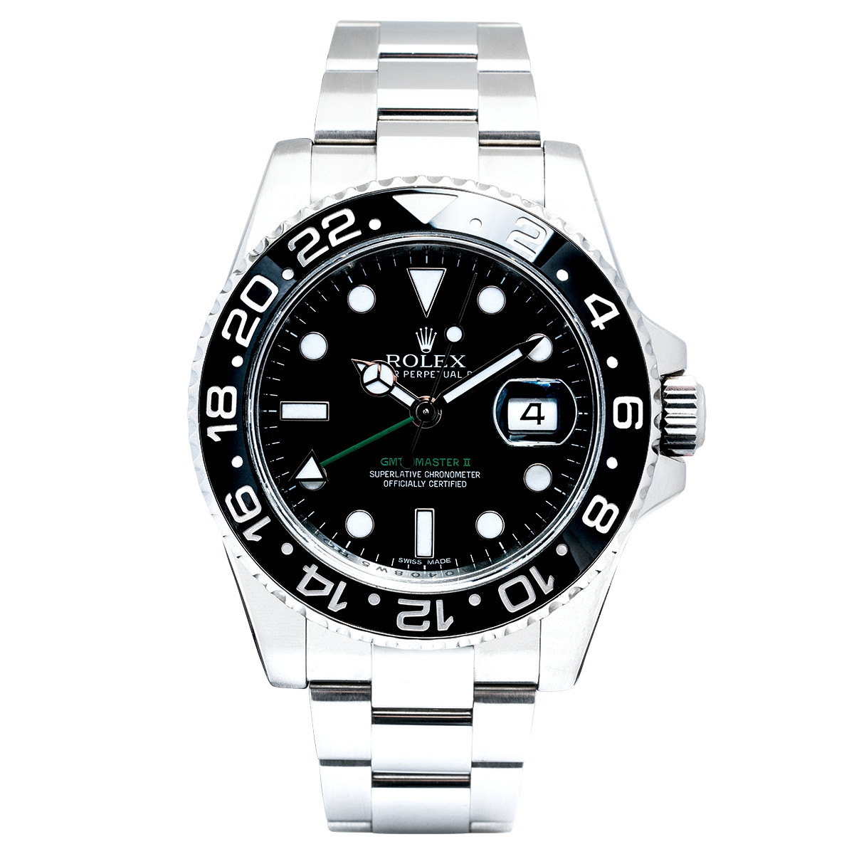Pre-Owned Man's 40mm Rolex GMT Master II