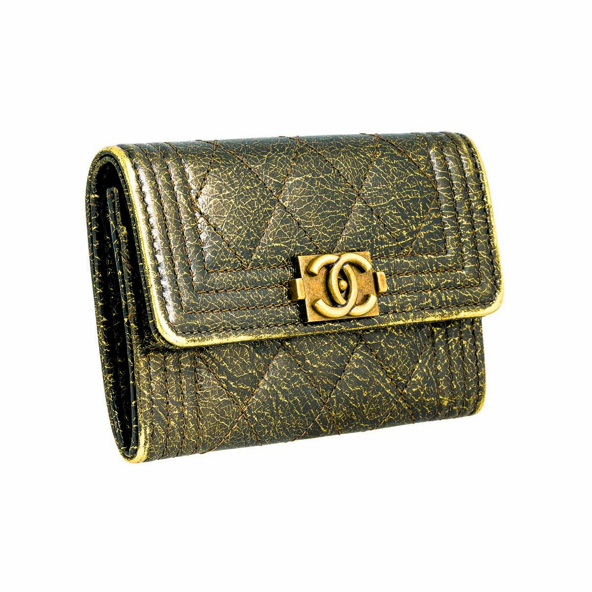 Vintage Chanel Boy Card Holder