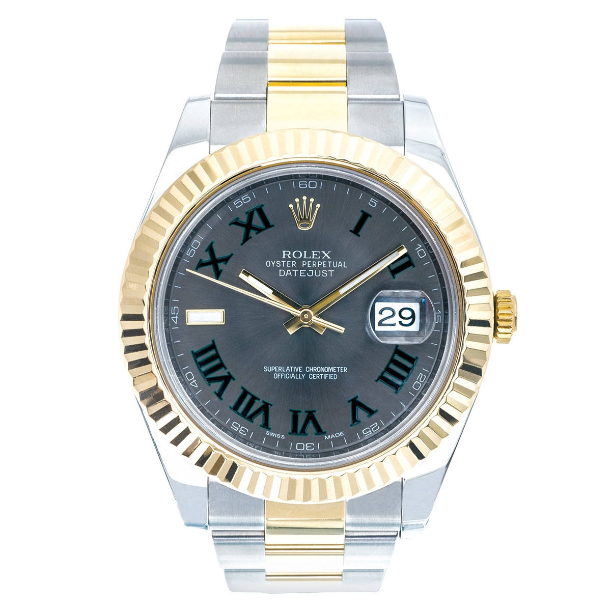 Pre-Owned Man's Rolex Datejust II