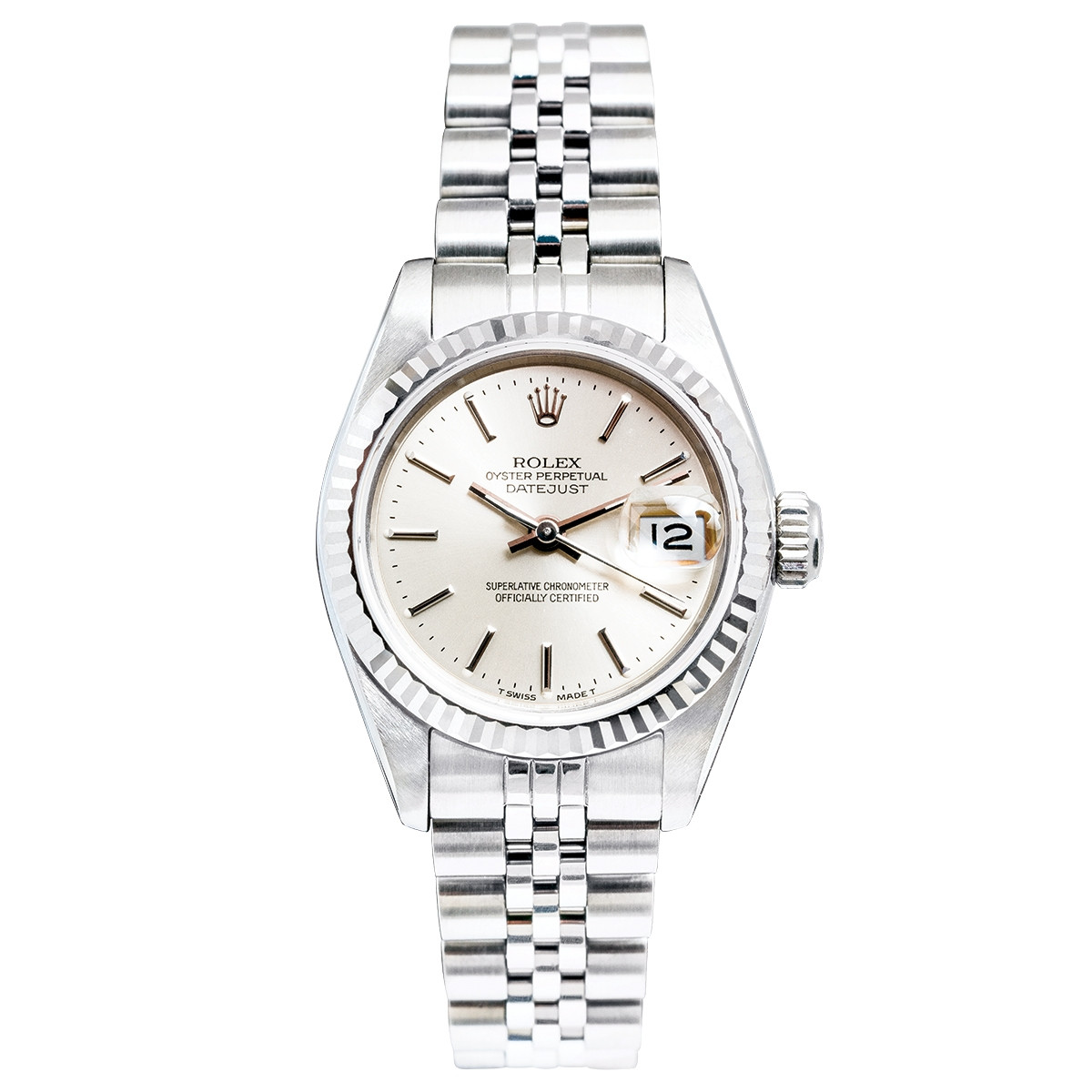 1613237825f Pre-Owned Woman's 26mm Rolex Datejust - Shop Jewelry, Watches ...