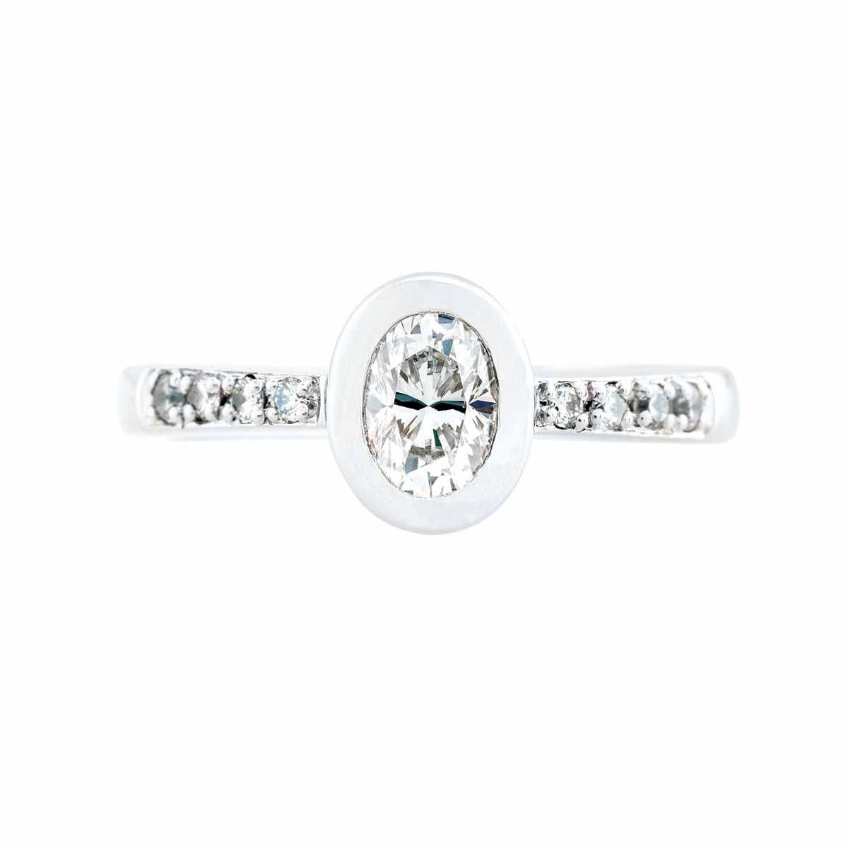Vintage 0.53 CTW Diamond Engagement Ring