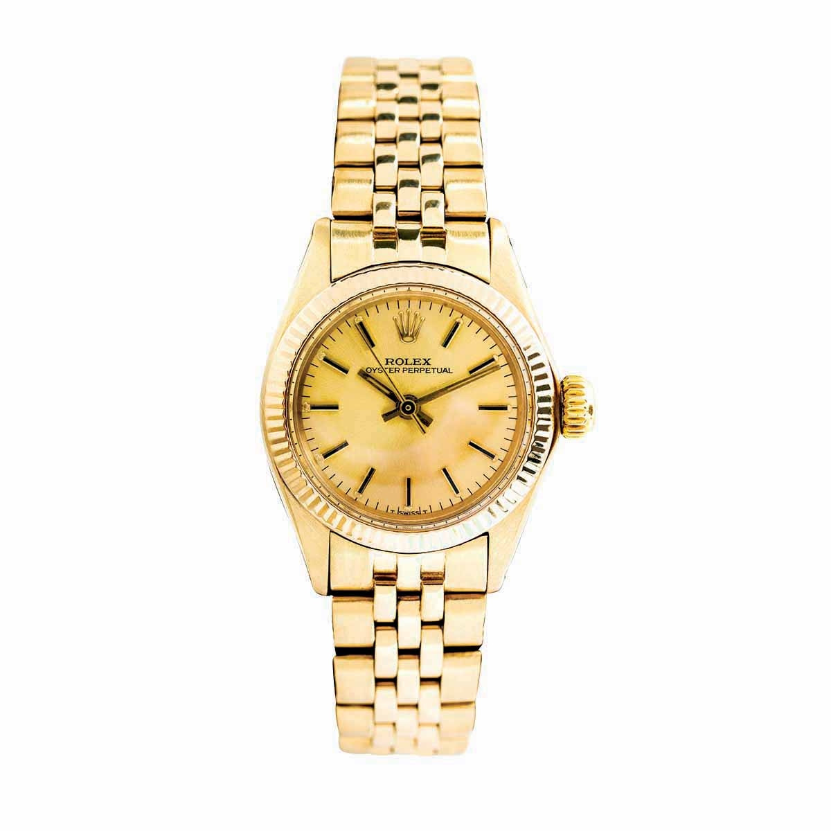Pre-Owned Woman's Rolex Oyster Perpetual
