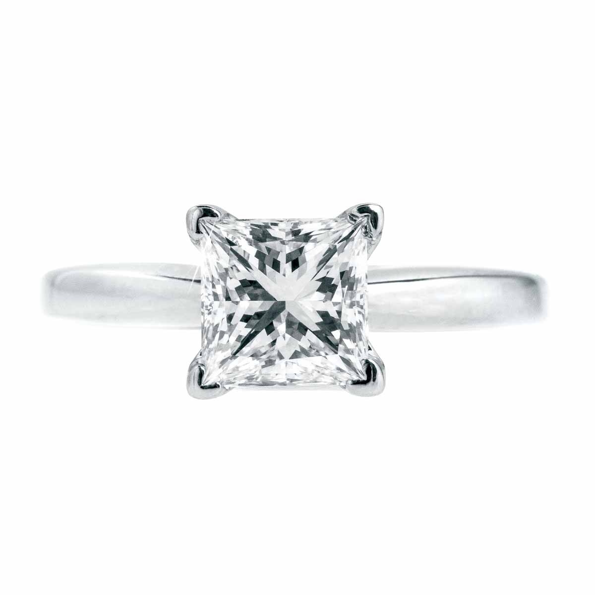 Vintage 1.29 CT Diamond Engagement Ring