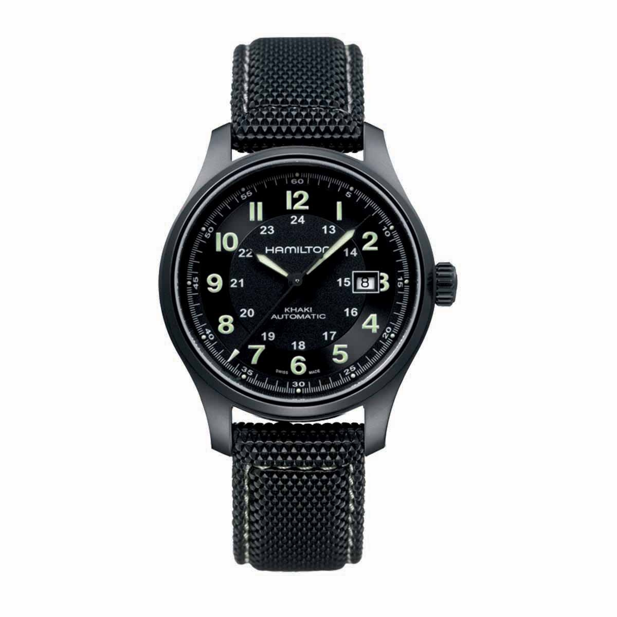 New Man's Hamilton Khaki Field