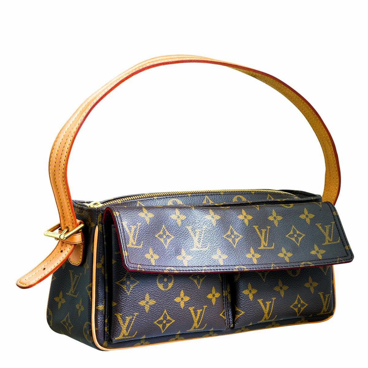 Vintage Louis Vuitton Cite Monogram Shoulder Bag