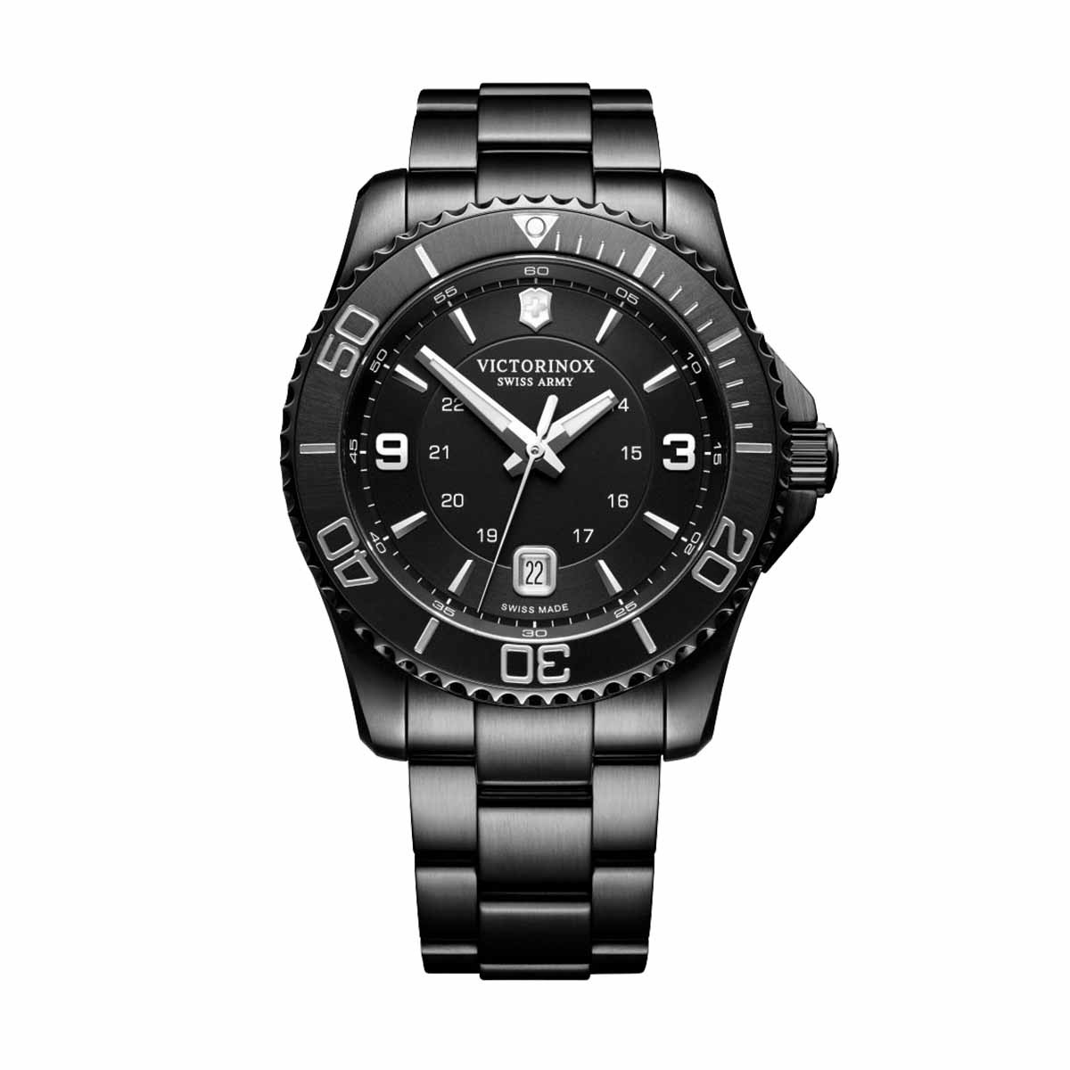 New Man's Victorinox Swiss Army Maverick Black Edition
