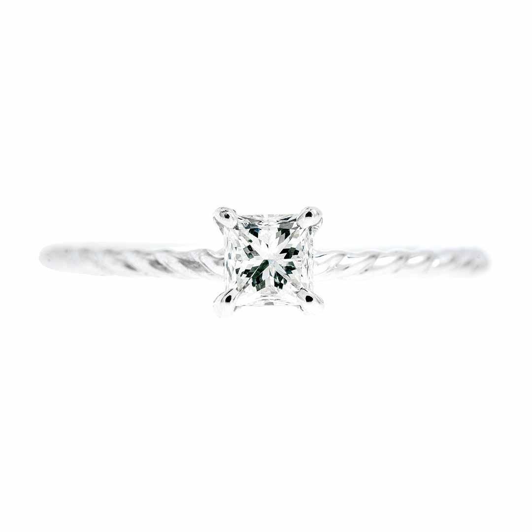 New 0.54 CTW Diamond Engagement Ring