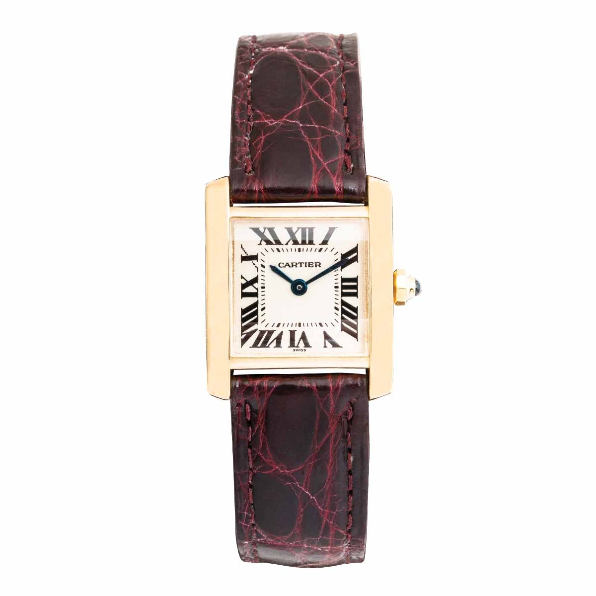 Pre-Owned Woman's Cartier Tank Frances Mini