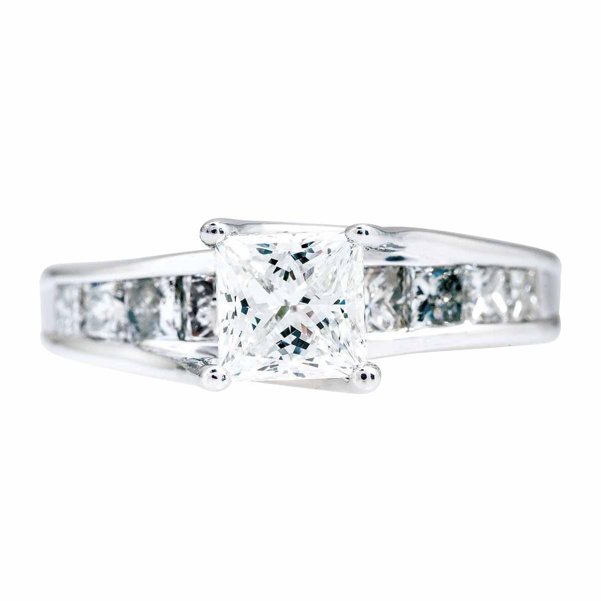 Vintage 1.94 CTW Diamond Engagement Ring