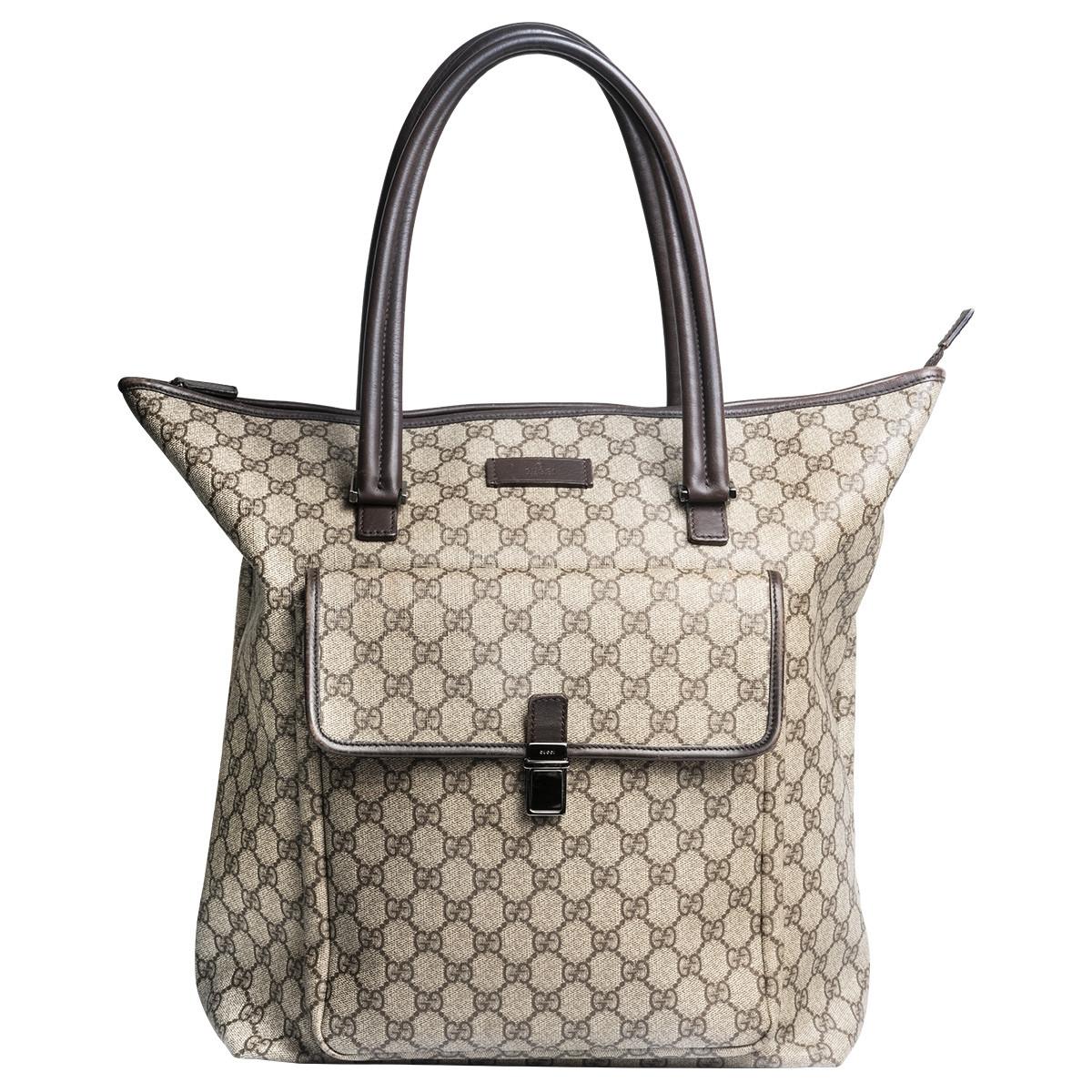 Vintage Gucci Supreme Monogram Shoulder Bag