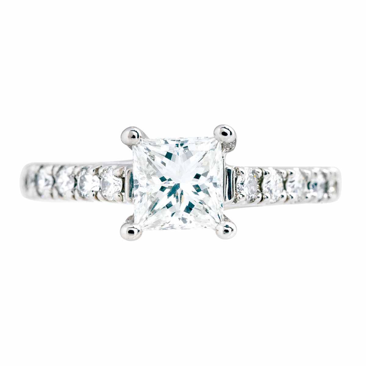 Vintage 1.33 CTW Diamond Engagement Ring