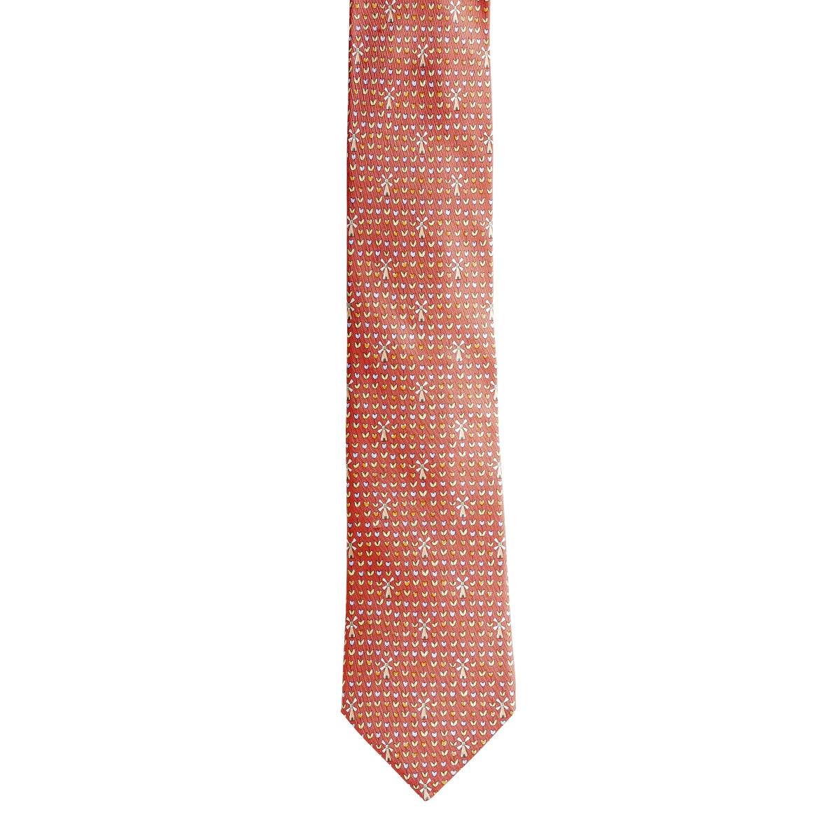Vintage Hermès Floral Tie