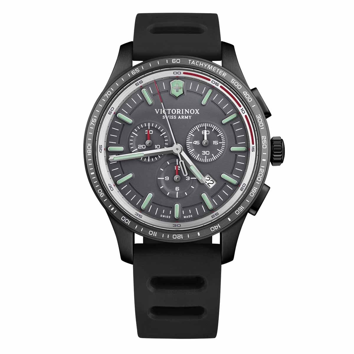 New Man's Victorinox Swiss Army Alliance Sport Chronograph