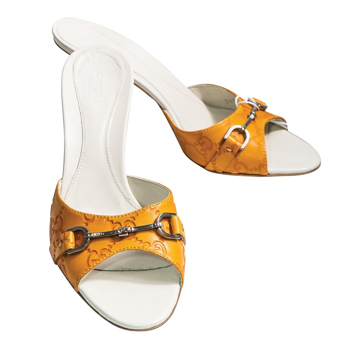 Vintage Gucci Guccissma Buttercup Sandals