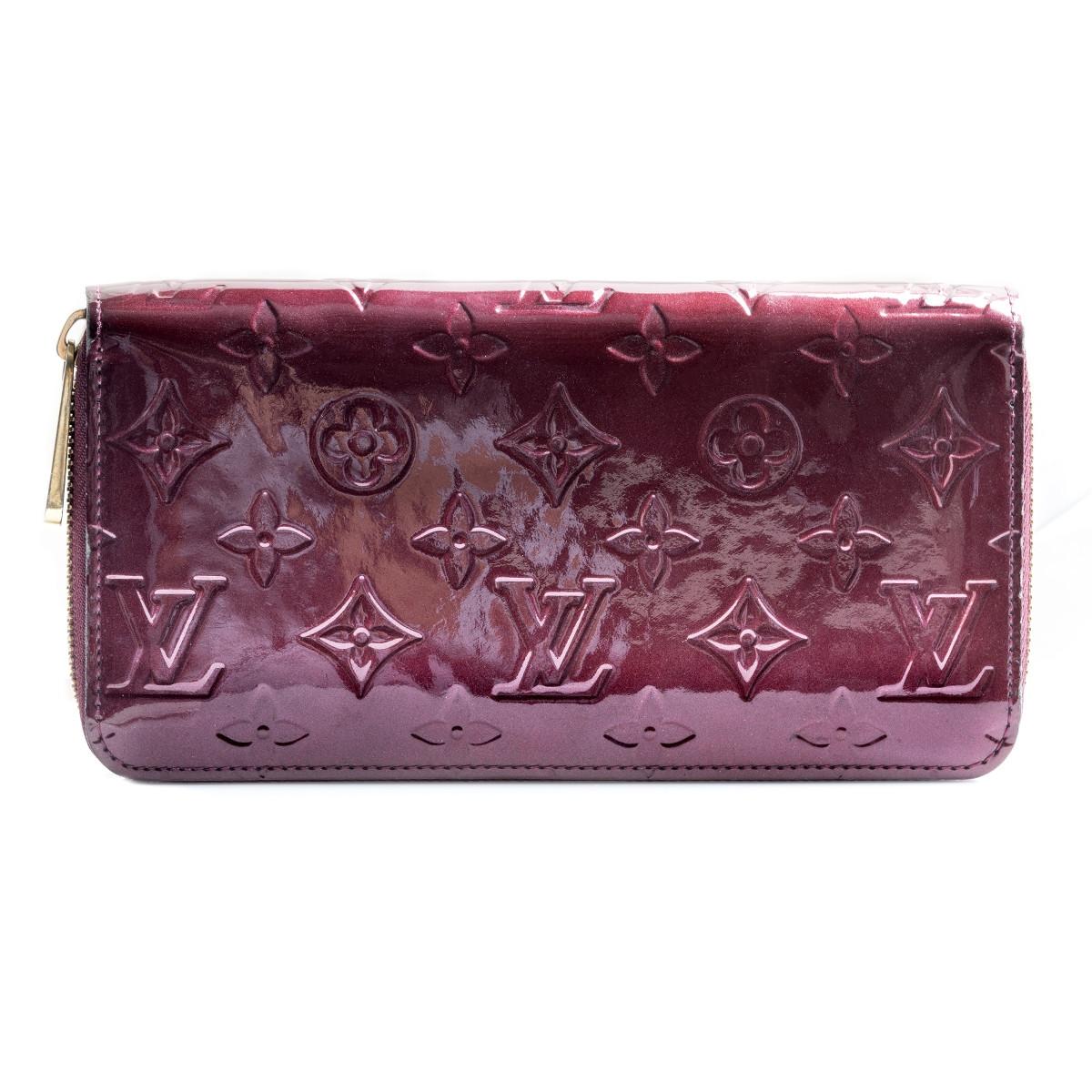 Vintage Louis Vuitton Vernis Zippy Wallet
