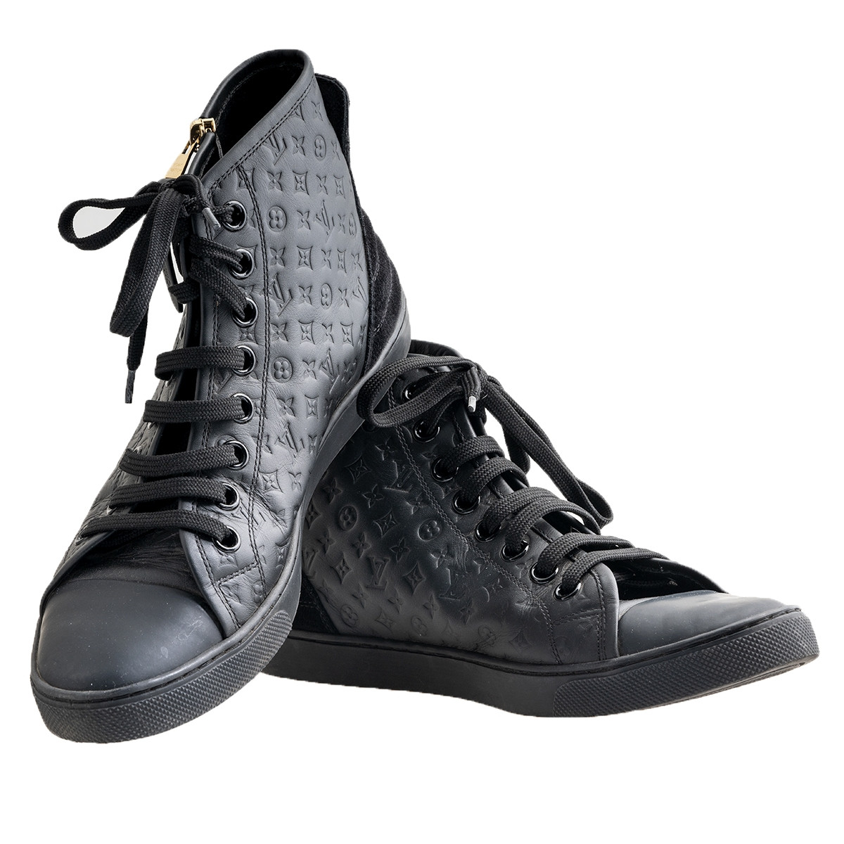 Vintage Louis Vuitton Monogram High Top Sneakers
