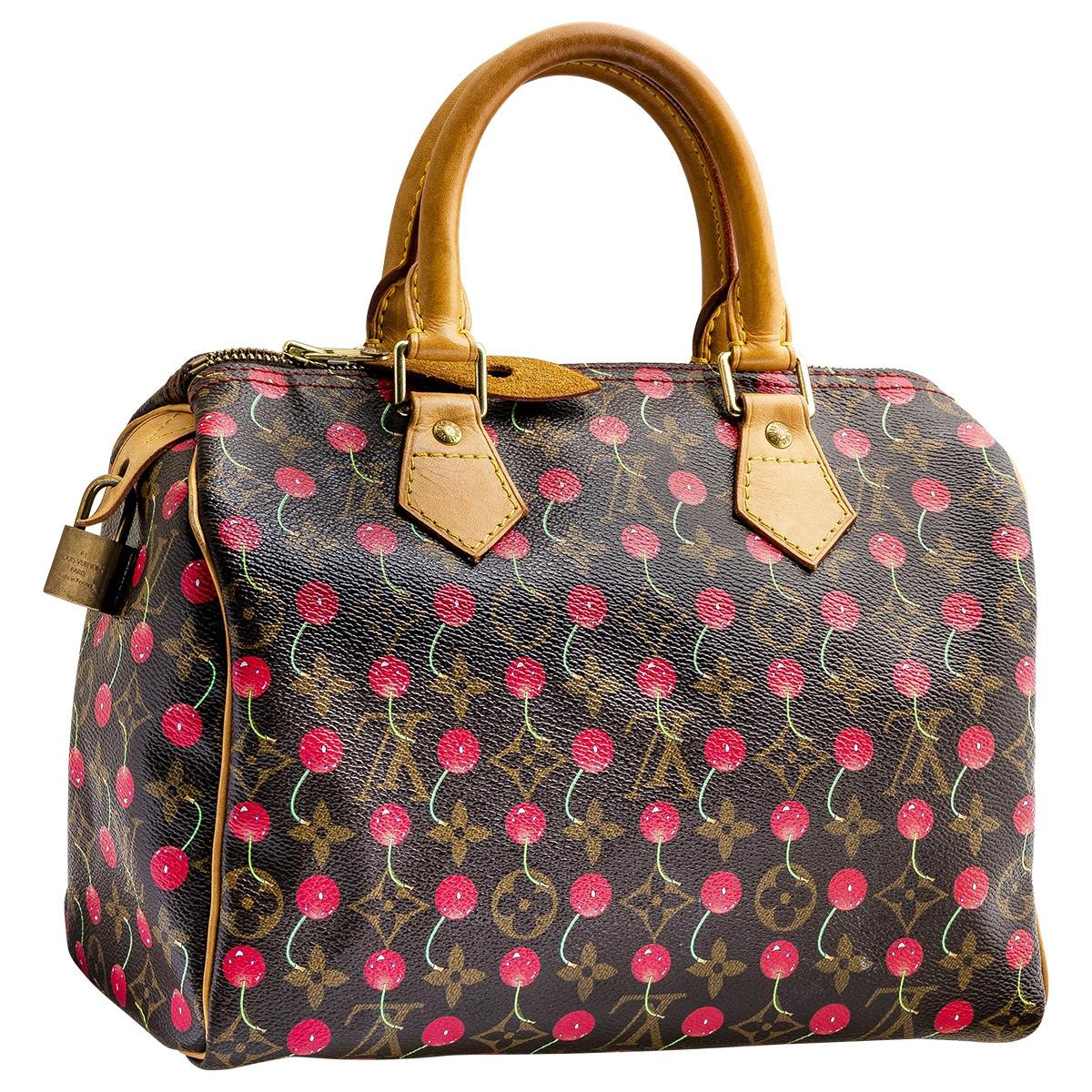 Vintage Louis Vuitton Cherry Speedy Bag