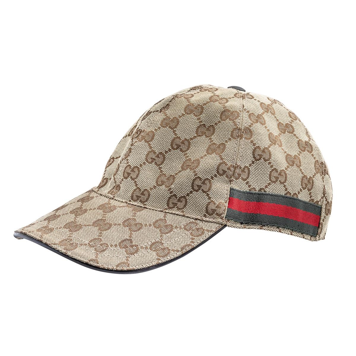 Vintage Gucci Monogram Baseball Cap