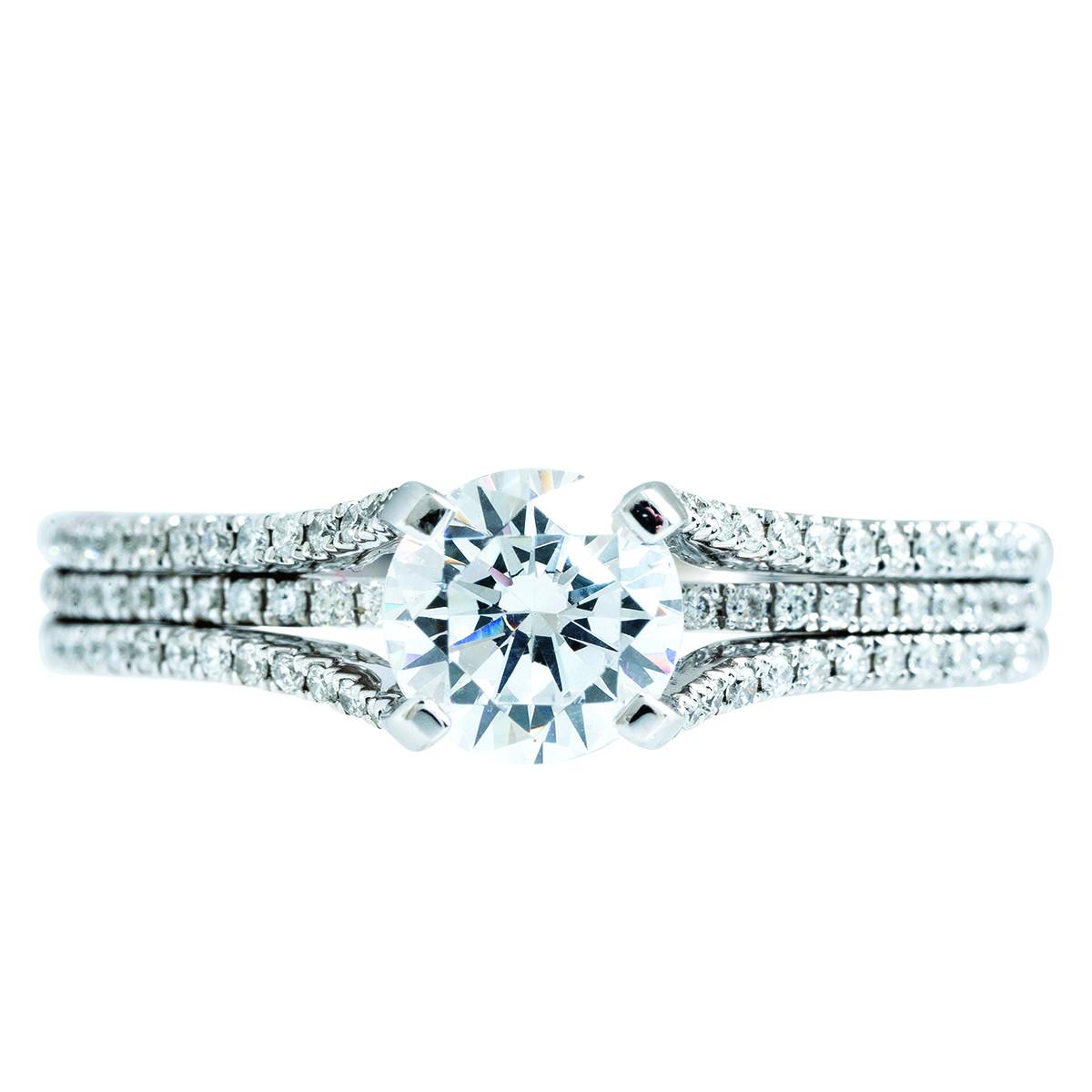 New Venetti 0.32 CTW Diamond Engagement Ring