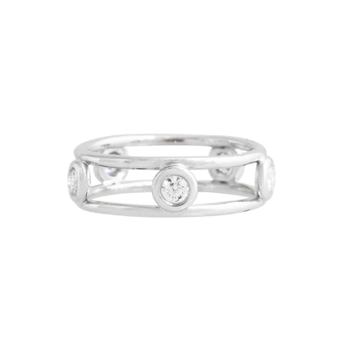 Vintage Tiffany & Co. 0.42 CTW 'Diamonds by the Yard' Ring