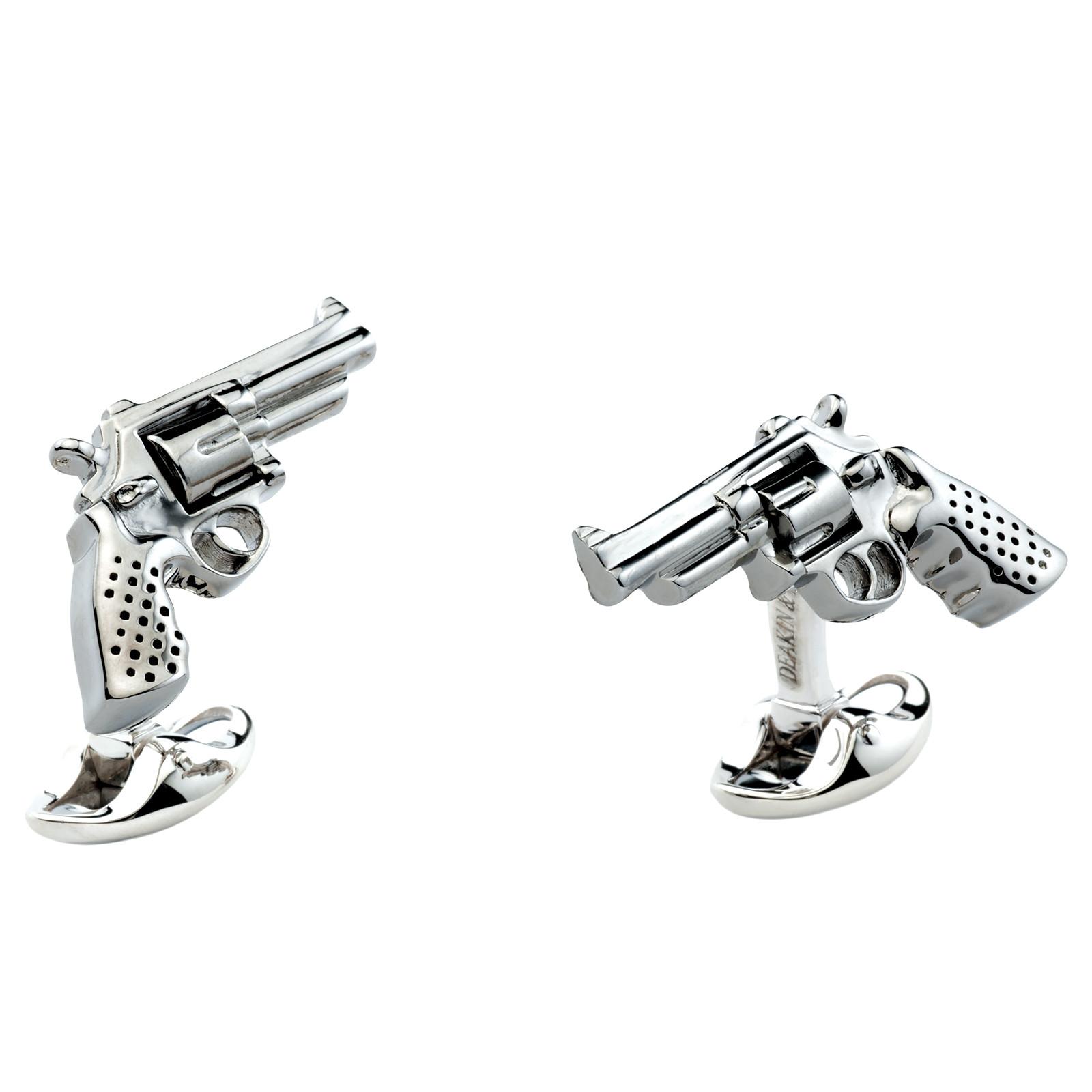New Deakin & Francis Revolver Cufflinks