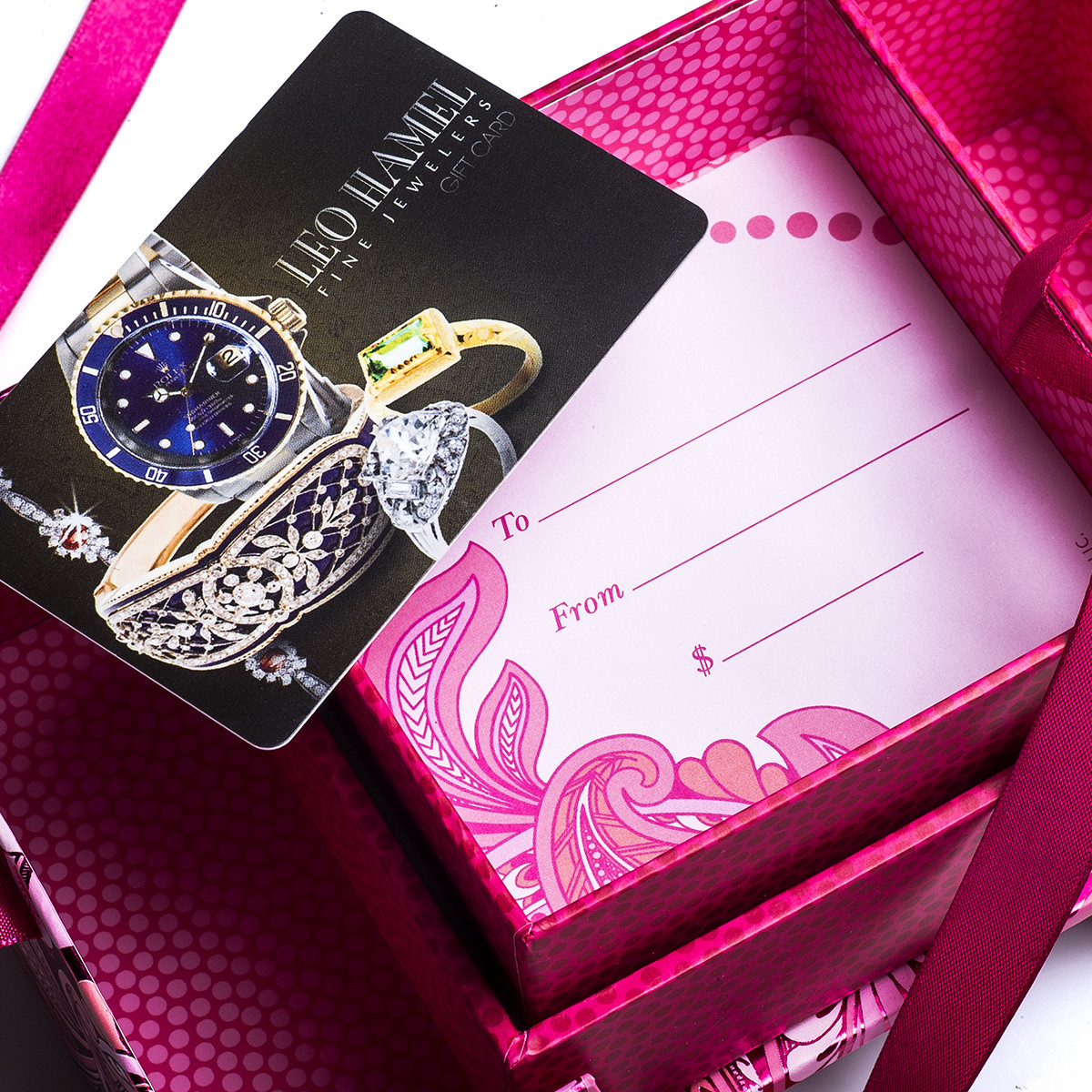 $500 Leo Hamel Fine Jewelers Gift Card