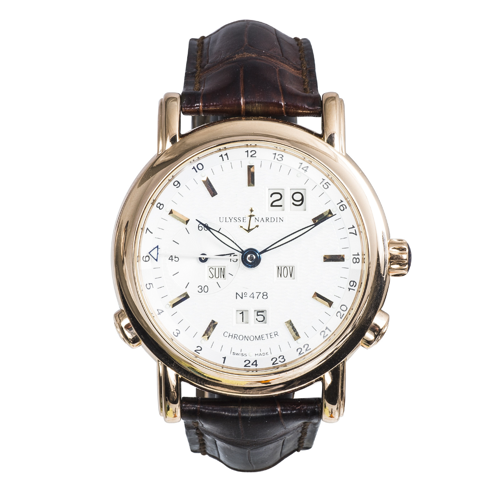 Pre-Owned Men's Ulysse Nardin GMT Perpetual Limited Edition