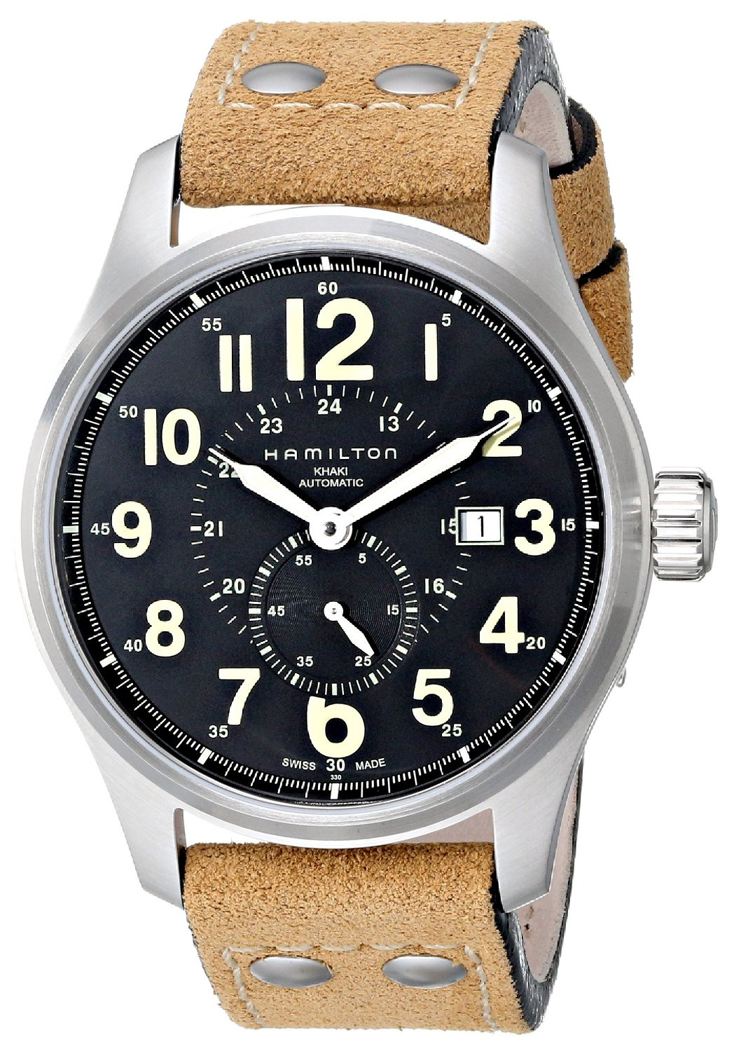 New Men's Hamilton Kahki Officer