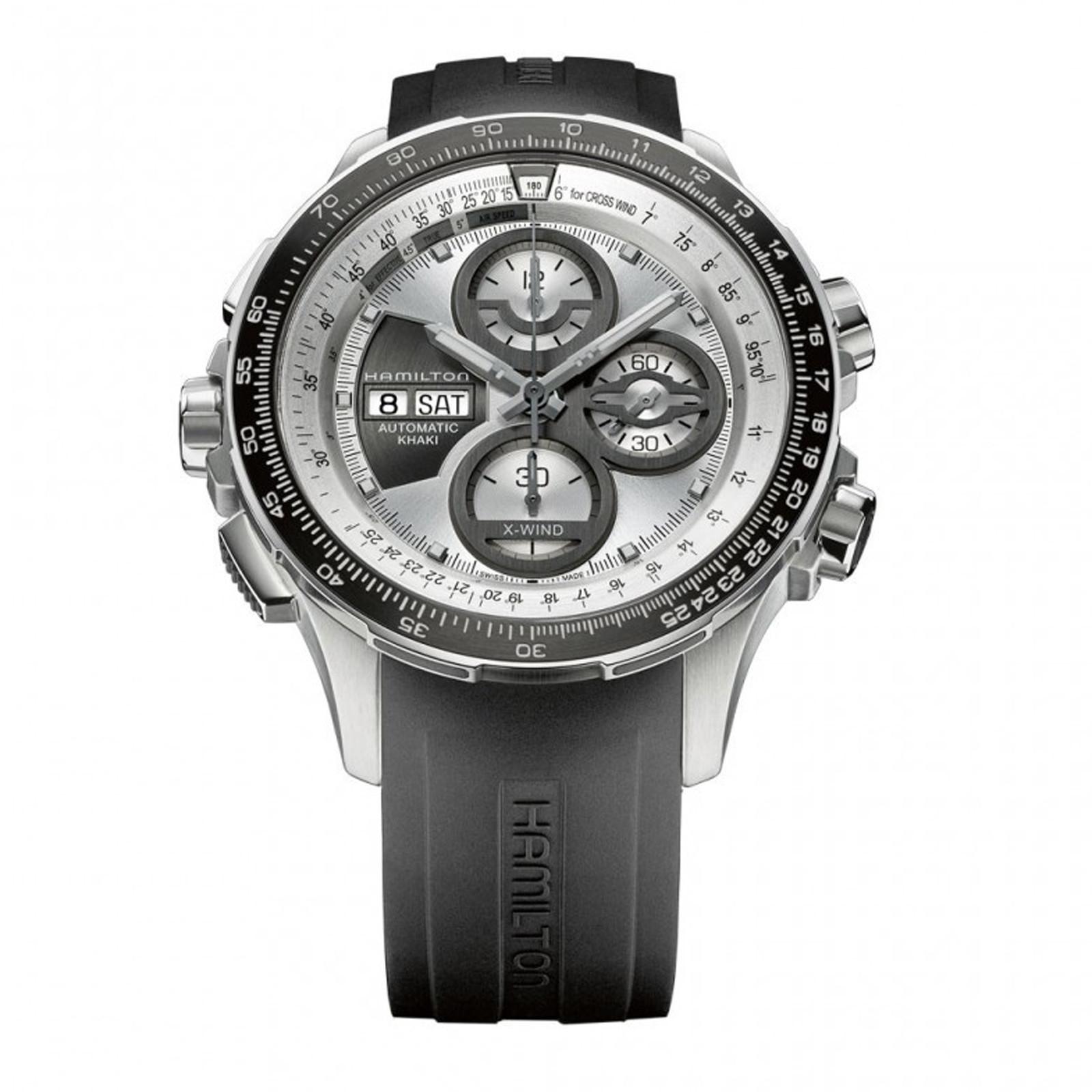 New Men's Hamilton Limited Edition X-Wind Khaki Chronograph