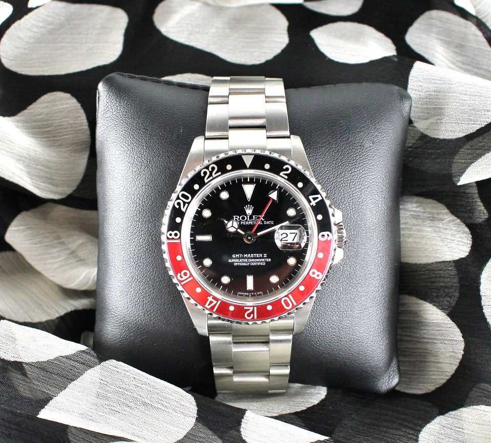 Pre-Owned Rolex GMT-Master II with Oyster Bracelet