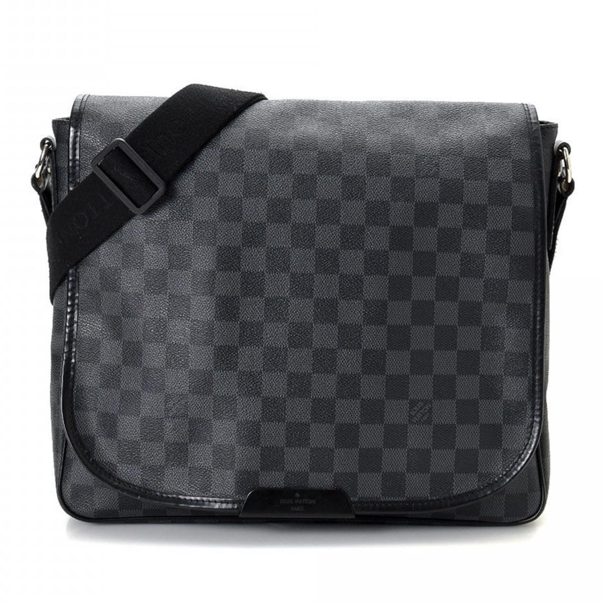 Vintage Louis Vuitton Damier Graphite Messenger Bag