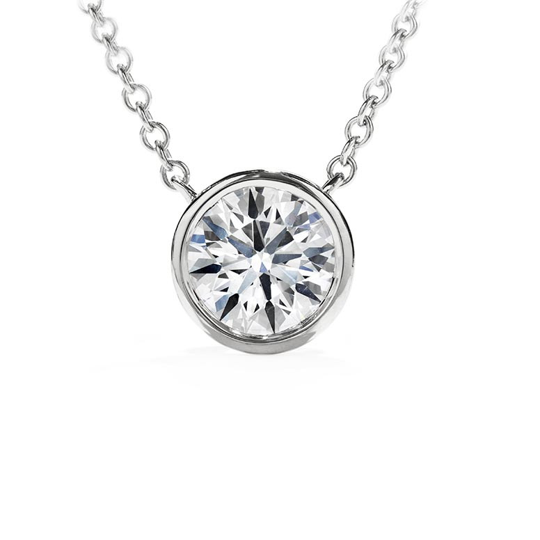 New Hearts On Fire® 0.12 CTW Diamond Obsession Necklace