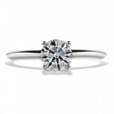 New Hearts On Fire® 0.004 CT Diamond Insignia Solitaire Ring Setting