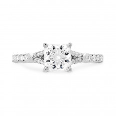 New Hearts On Fire® 0.23 CTW Diamond Cali Chic Ring Setting