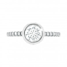 New Hearts On Fire® 0.39 CTW Diamond Deco Chic Ring Setting